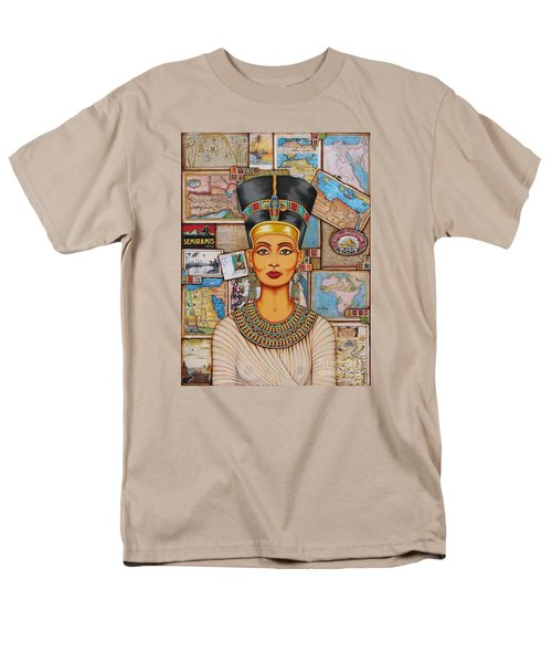 The Queen Of Amarna Men's T-Shirt  (Regular Fit) by Joseph Sonday