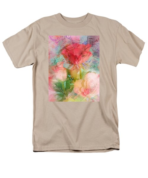 The Romance Of Roses Men's T-Shirt  (Regular Fit) by Carla Parris