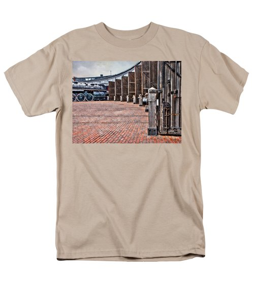 The Roundhouse Men's T-Shirt  (Regular Fit) by Keith Armstrong