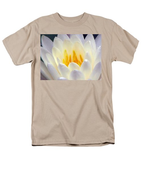 Men's T-Shirt  (Regular Fit) featuring the photograph The Water Lilies Collection - 11 by Pamela Critchlow