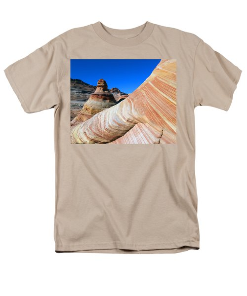 'the Wave' North Coyote Buttes 10 Men's T-Shirt  (Regular Fit)