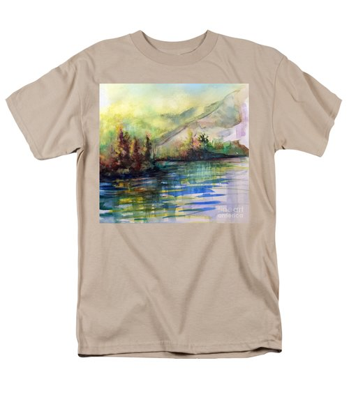 Men's T-Shirt  (Regular Fit) featuring the painting Thinking Of Sargent by Allison Ashton