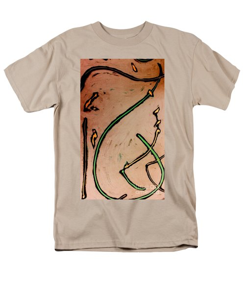 Men's T-Shirt  (Regular Fit) featuring the painting Thirteen by Jacqueline McReynolds