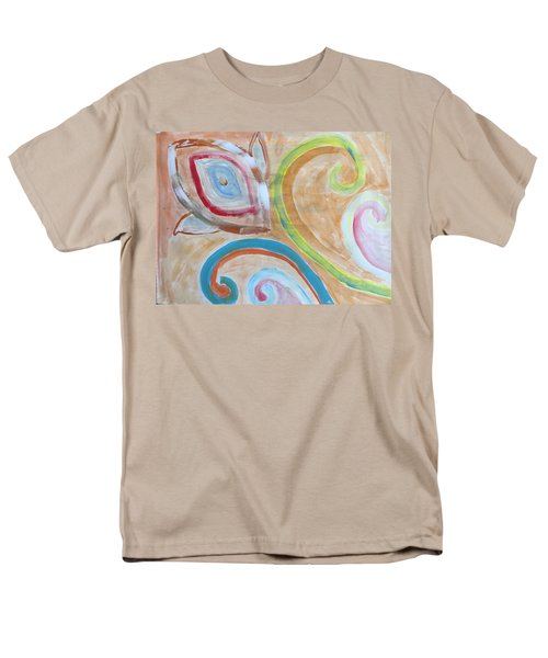 Men's T-Shirt  (Regular Fit) featuring the painting Thought by Sonali Gangane