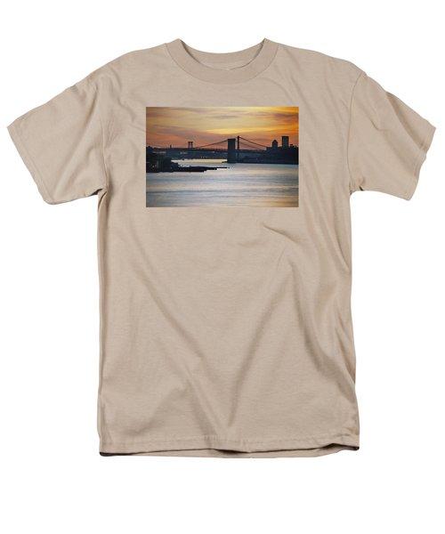 Three Bridges Men's T-Shirt  (Regular Fit) by John Schneider