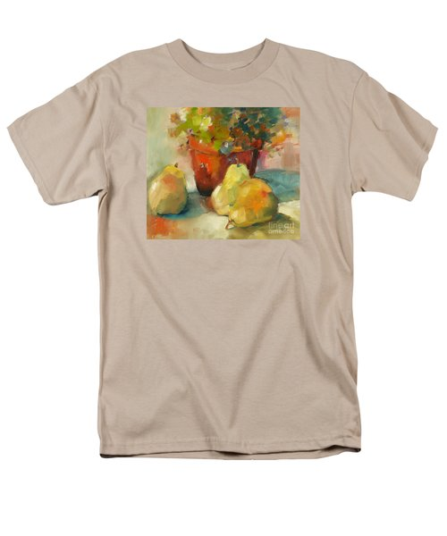 Three Pears And A Pot Men's T-Shirt  (Regular Fit) by Michelle Abrams