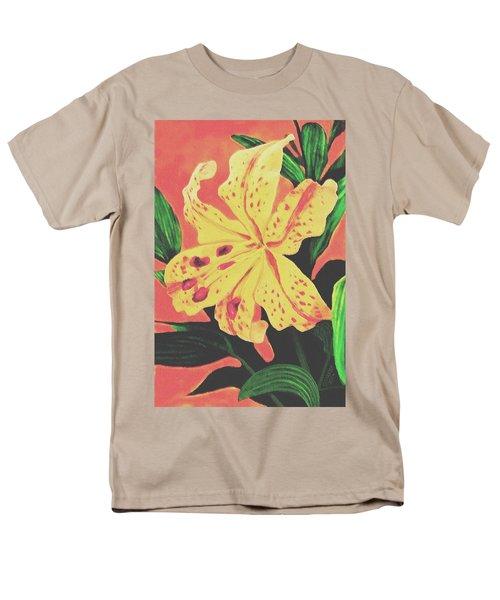 Tiger Lily Men's T-Shirt  (Regular Fit) by Sophia Schmierer