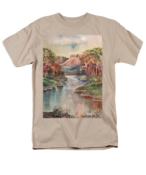 Timbercreek Canyon Dawn Men's T-Shirt  (Regular Fit) by Joan Hartenstein