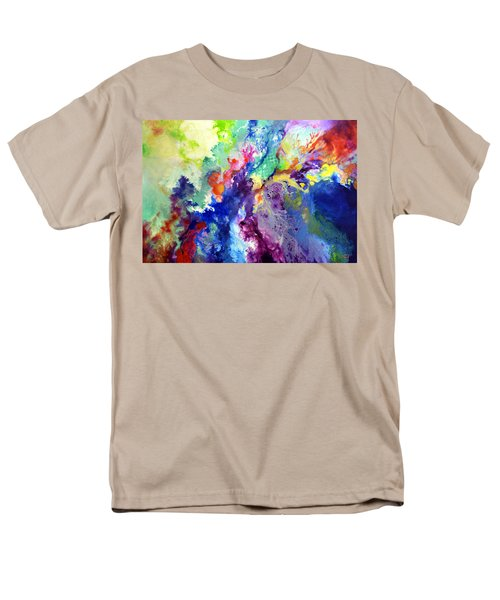 Touch Me Here Men's T-Shirt  (Regular Fit) by Sally Trace