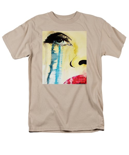Men's T-Shirt  (Regular Fit) featuring the painting Tougher Than You Think 2 by Michael Cross