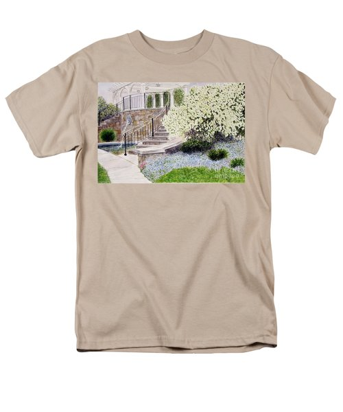 Men's T-Shirt  (Regular Fit) featuring the painting Tower Hill Blues by Carol Flagg