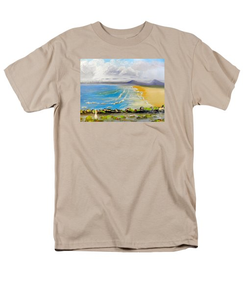 Towradgi Beach Men's T-Shirt  (Regular Fit) by Pamela  Meredith