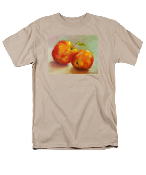 Two Peaches Men's T-Shirt  (Regular Fit) by Michelle Abrams