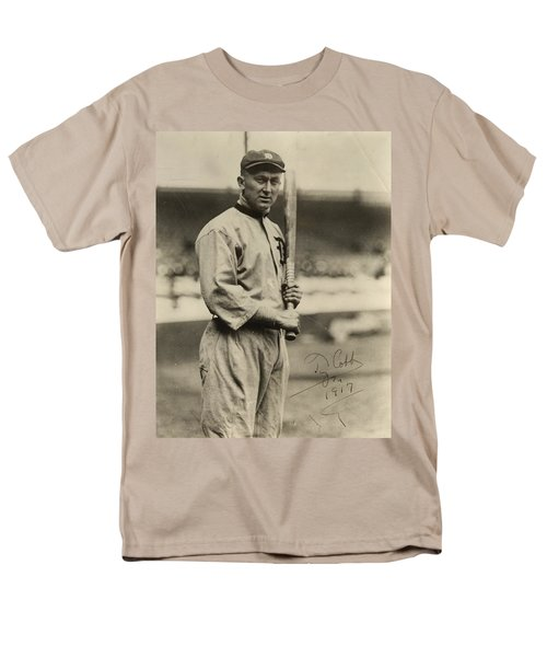 Ty Cobb  Poster Men's T-Shirt  (Regular Fit) by Gianfranco Weiss