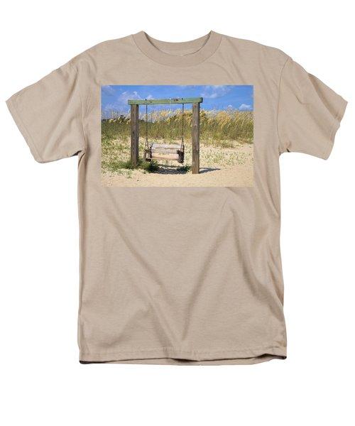 Tybee Island Swing Men's T-Shirt  (Regular Fit) by Gordon Elwell
