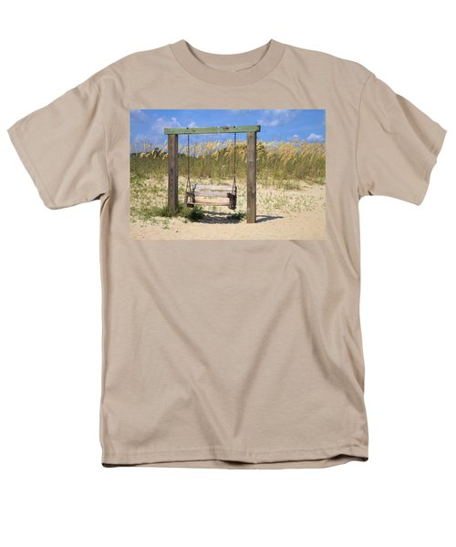 Tybee Island Swing Men's T-Shirt  (Regular Fit)