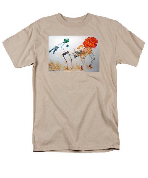 Tyrants Of Desire Men's T-Shirt  (Regular Fit) by Lazaro Hurtado