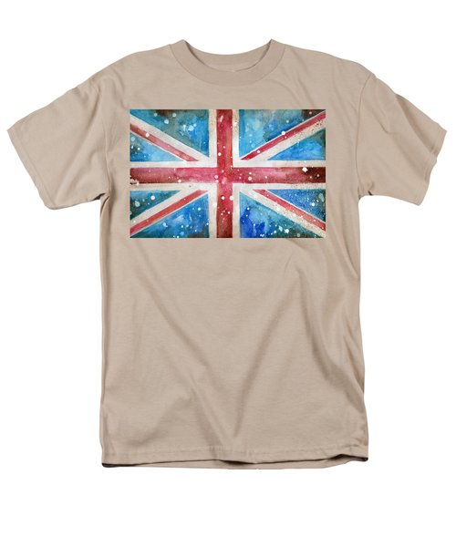 Union Jack Men's T-Shirt  (Regular Fit) by Sean Parnell
