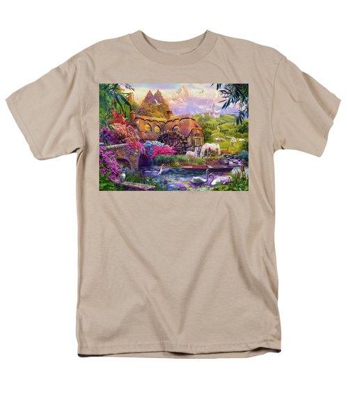 Men's T-Shirt  (Regular Fit) featuring the photograph Light Palace by Jan Patrik Krasny