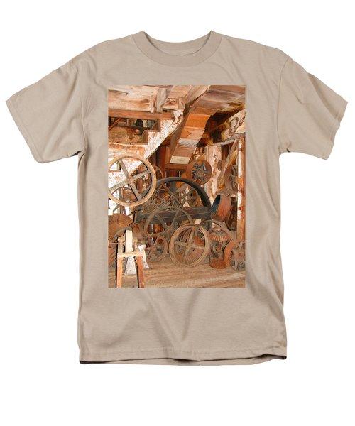 Used Parts As Art  Men's T-Shirt  (Regular Fit) by Brooks Garten Hauschild