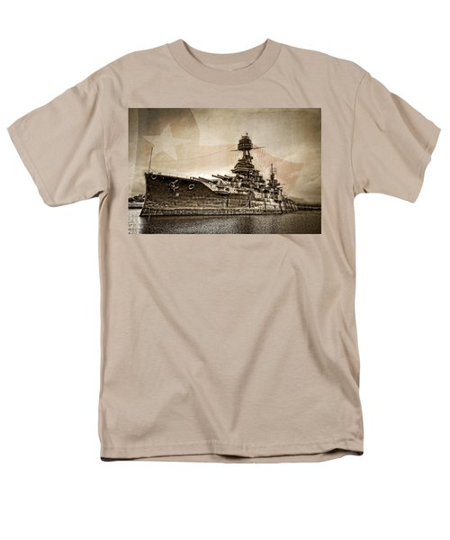 U.s.s. Texas Men's T-Shirt  (Regular Fit) by Ken Smith