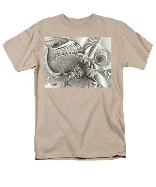 Utopia-fractal Art Men's T-Shirt  (Regular Fit) by Karin Kuhlmann