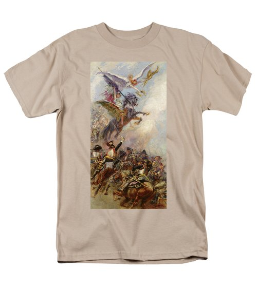 Victory Men's T-Shirt  (Regular Fit) by Jean-Baptiste Edouard Detaille