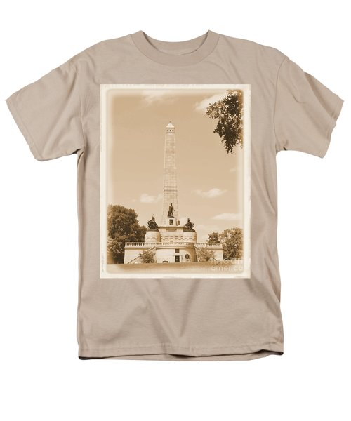 Vintage Lincoln's Tomb Men's T-Shirt  (Regular Fit) by Luther Fine Art