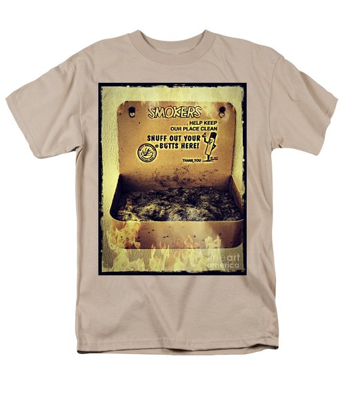 Vintage Mr. Butt Snuffer Ashtray Men's T-Shirt  (Regular Fit) by Peggy Franz
