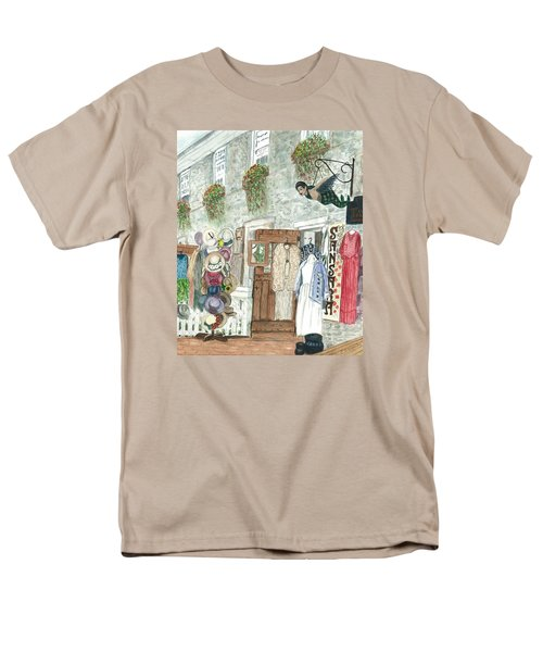 Vintage New Hope Men's T-Shirt  (Regular Fit) by Vickie G Buccini