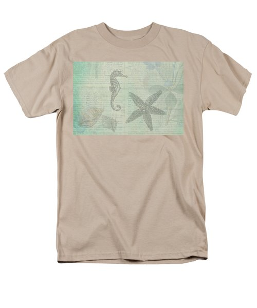 Vintage Under The Sea Men's T-Shirt  (Regular Fit) by Peggy Collins