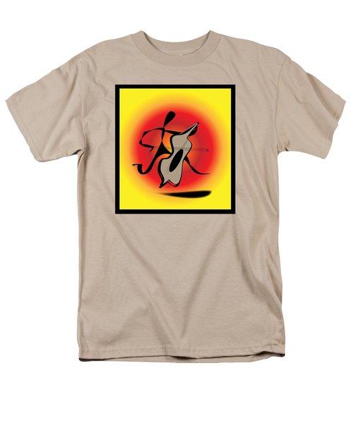 Viola Men's T-Shirt  (Regular Fit) by Iris Gelbart