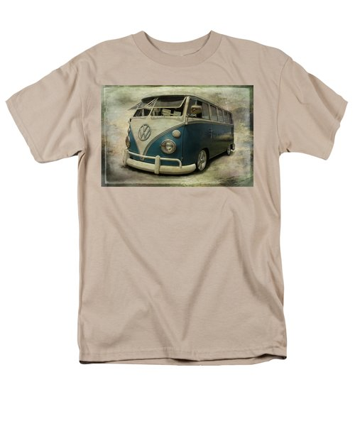 Vw Bus On Display Men's T-Shirt  (Regular Fit) by Athena Mckinzie