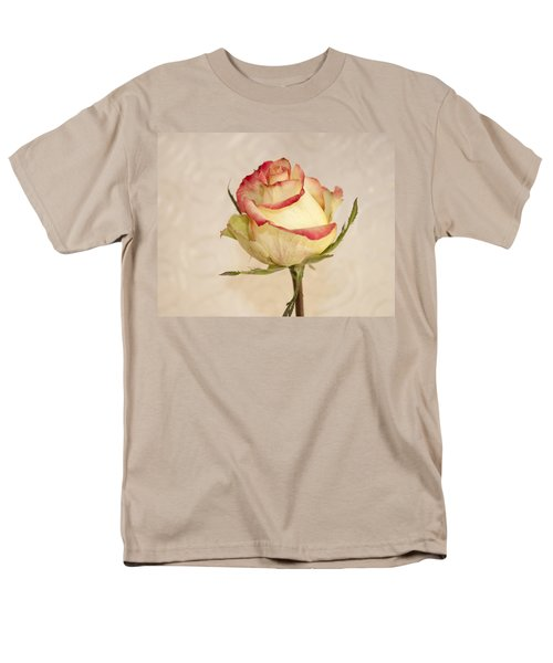 Men's T-Shirt  (Regular Fit) featuring the photograph Waiting For The Unfurling by Sandra Foster