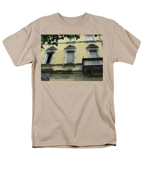 Men's T-Shirt  (Regular Fit) featuring the photograph Watch Your Step by Natalie Ortiz