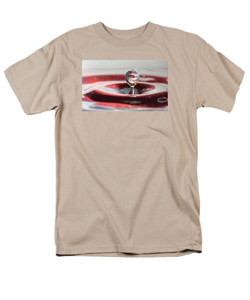 Water Drops Jumping Men's T-Shirt  (Regular Fit) by Jeff Folger