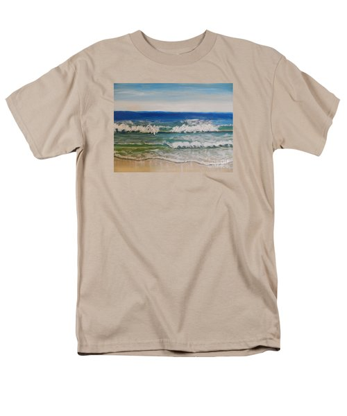 Waves Men's T-Shirt  (Regular Fit) by Pamela  Meredith