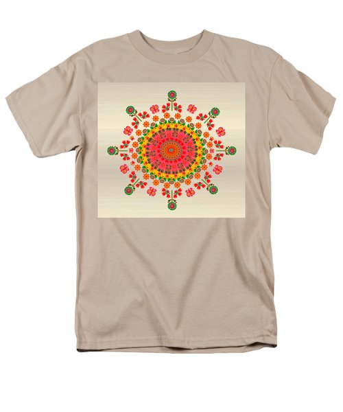 Wayuu Art Happiness Men's T-Shirt  (Regular Fit) by Gabriela Delgado