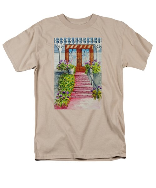 Men's T-Shirt  (Regular Fit) featuring the painting Welcome by Katherine Young-Beck
