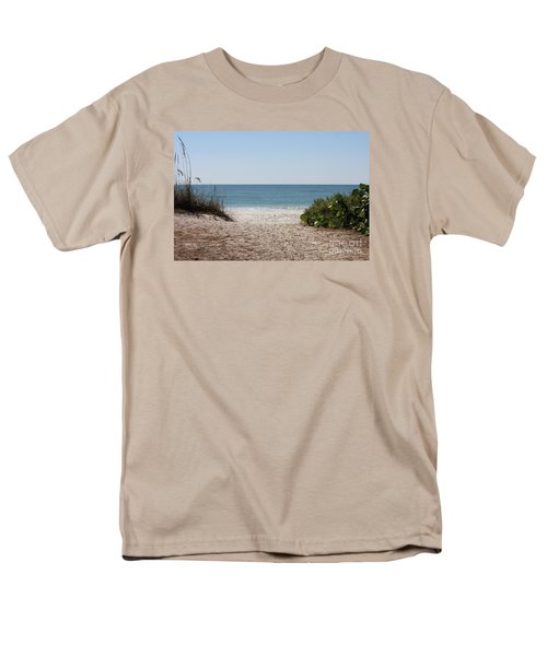 Welcome To The Beach Men's T-Shirt  (Regular Fit)