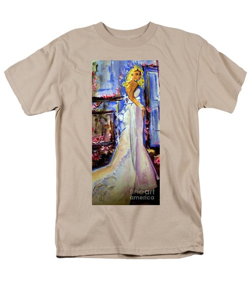 When Lovely Women Men's T-Shirt  (Regular Fit) by Helena Bebirian