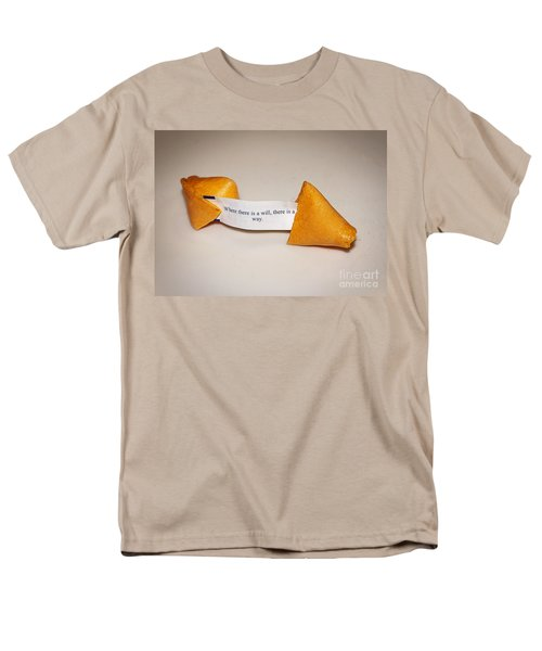 Where There Is A Way Men's T-Shirt  (Regular Fit) by Janice Rae Pariza