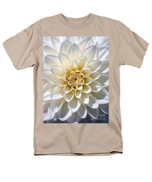 White Dahlia Men's T-Shirt  (Regular Fit) by Carsten Reisinger