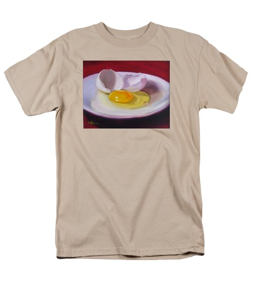 Men's T-Shirt  (Regular Fit) featuring the painting White Egg Study by LaVonne Hand