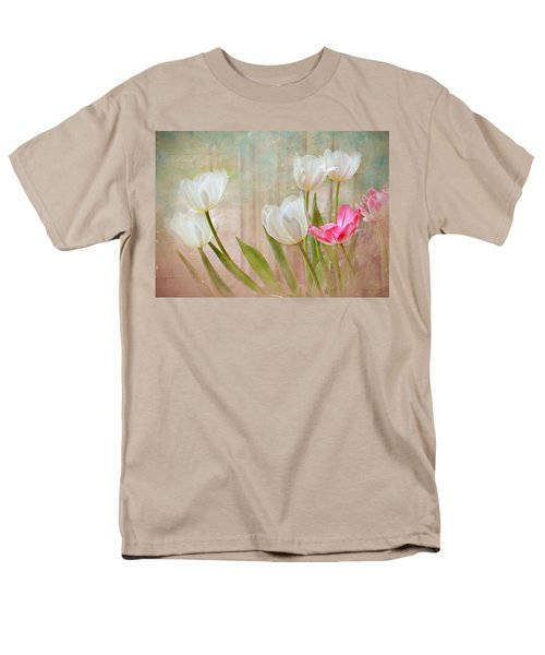 White Lily Show Men's T-Shirt  (Regular Fit) by Bonnie Willis