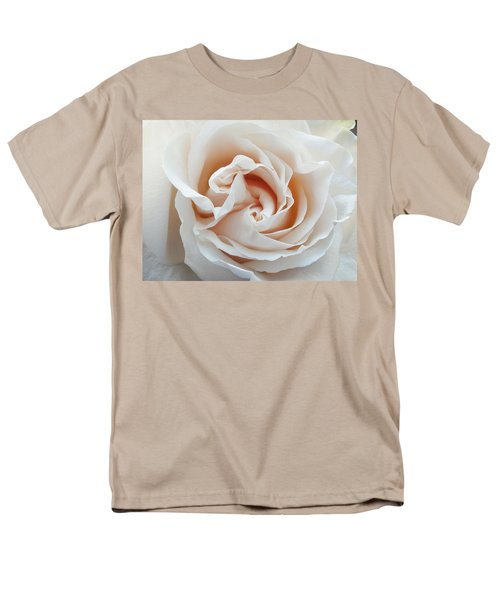 Men's T-Shirt  (Regular Fit) featuring the photograph White Rose by Tiffany Erdman