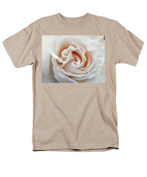 White Rose Men's T-Shirt  (Regular Fit) by Tiffany Erdman