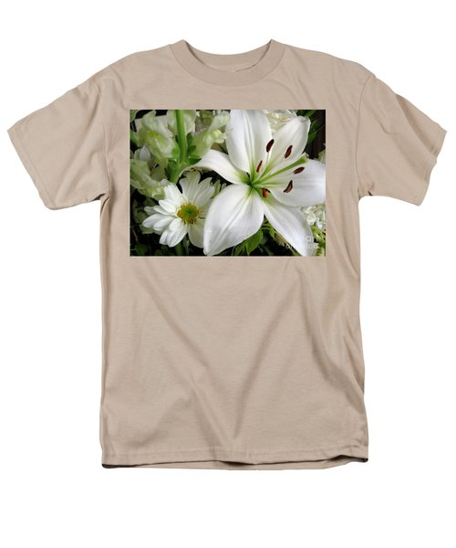 Men's T-Shirt  (Regular Fit) featuring the photograph White Wonder by Rory Sagner
