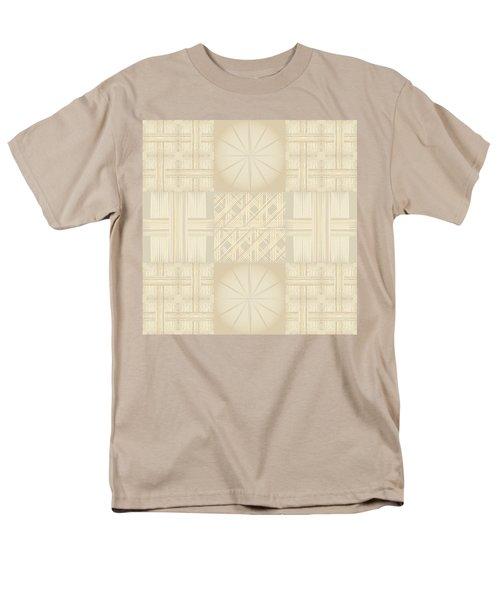 Wicker Quilt Men's T-Shirt  (Regular Fit) by Kevin McLaughlin