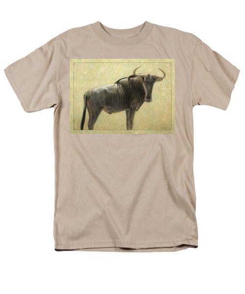 Wildebeest Men's T-Shirt  (Regular Fit) by James W Johnson